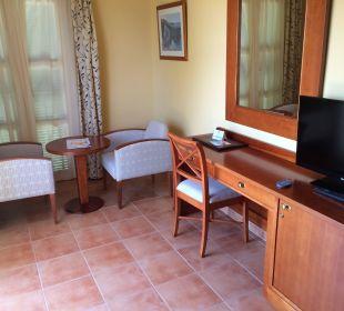 Die eine Hälfte vom Zimmer Hotel Don Antonio