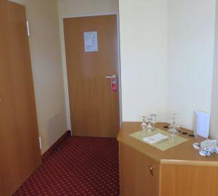 Zimmertür Seehotel Großherzog von Mecklenburg