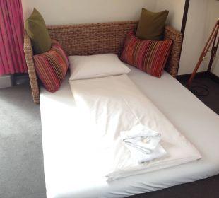 First Class Suite Notbett für unseren Sohn Lindner Park-Hotel Hagenbeck