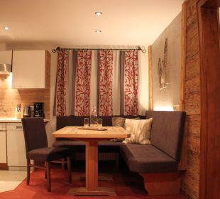 Wohnküche Appartement Riffler Haus Buchhammer