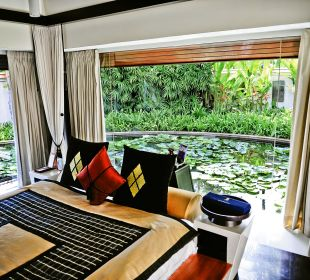 Spa Pool Villa - Schlafbereich Hotel Banyan Tree Phuket