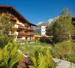 Krallerhof Gartenansicht Hotel Krallerhof
