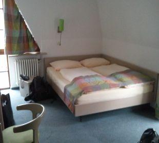 Zimmer vom Eingang aus Hotel Garni Körschtal