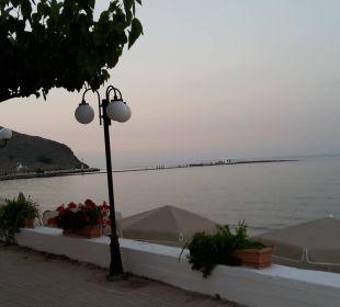 Blick vom Restaurant Hotel Corissia Princess