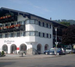 Sicht auf unser Ekerzimmer Hotel Bellevue