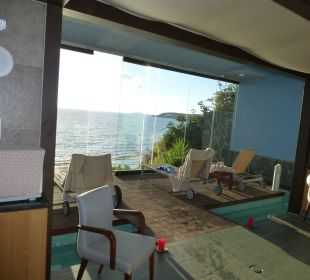 Wellnessbereich mit Meerblick Lopesan Villa del Conde Resort & Spa