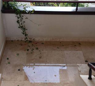 Treppenhaus nach starken Regen! Fahrstuhl defekt! Martı Resort De Luxe