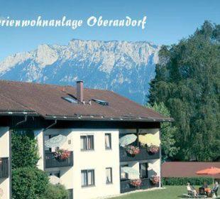 Aussenaufnahme Ferienwohnanlage Oberaudorf