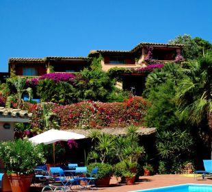 Vista degli appartamenti Hotel Residence Fenicia