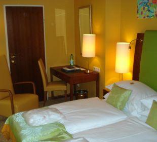 Nicht allzu viel Platz, aber alles da Small Luxury Hotel Das Tyrol