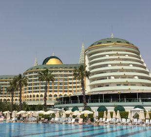 Sicht vom Außenpool Hotel Delphin Imperial