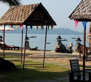 Ausblick vom Frühstücksraum Hotel Mukdara Beach Villa & Spa Resort