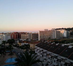 Blick vom Balkon H·TOP Calella Palace
