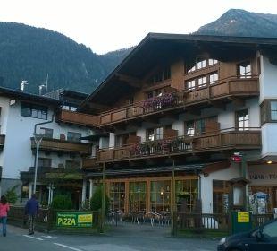 Blick auf das Hotel Ferienhotel Martinerhof