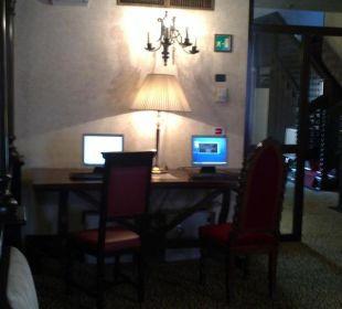 Internet-Bereich Hotel Saturnia Hotel Saturnia