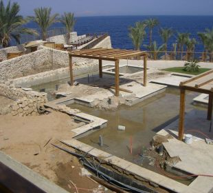 Baustelle beim Reef Restaurant