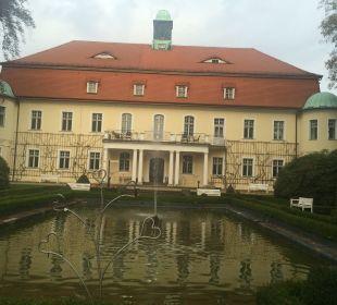 Parkansicht  Hotel Schloss Schweinsburg