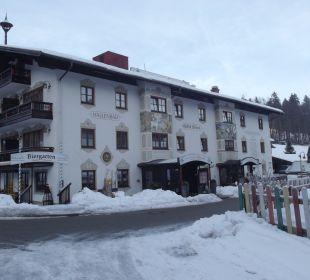 Die Eingangsseite Aktivhotel & Gasthof Schmelz