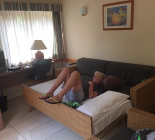 Wohnzimmer Dunas Suites&Villas Resort