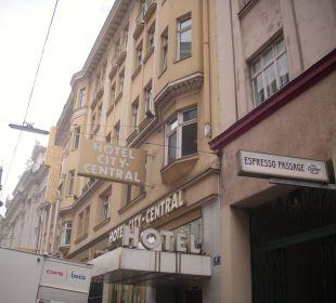 In Habsburgergelb Hotel City Central