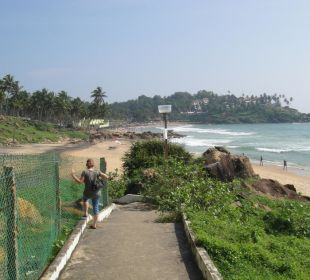 Weg zur Ashok Bucht Molly's Retreat B&B
