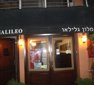 Haupteingang Galileo Boutique Hotel