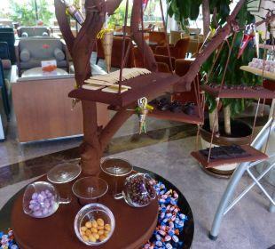 Süßigkeiten überall Sensimar Side Resort & Spa