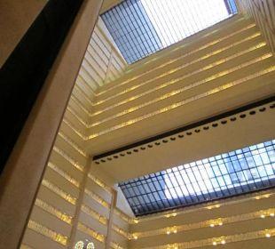 Blick von der Lobby hoch