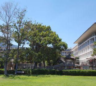 Vom Strand aus gesehen  Kilikya Palace Göynük