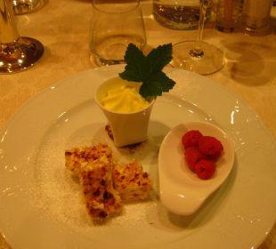 Ein Beispiel für's Dessert... lecker! Hotel Monika
