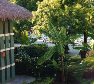 Aussicht vom Balkon Hotel Azzurro Club Estrella (geschlossen)