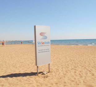 Feiner Sandstrand Side Sun Bella Resort & Spa