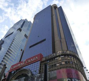 Aussenansicht Crowne Plaza Hotel Times Square Manhattan