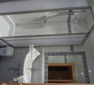 Badezimmer Hotel Garni Kardona