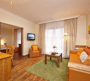 Familienzimmer Beispiel Hotel Zugspitze
