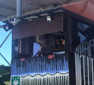 DJ Kabine (Erdo und Leo) Hotel Side Sun