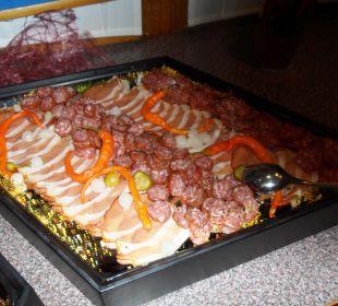 Auswahl Vorspeisen Kärntner Abend (lecker!) Hotel Gartnerkofel