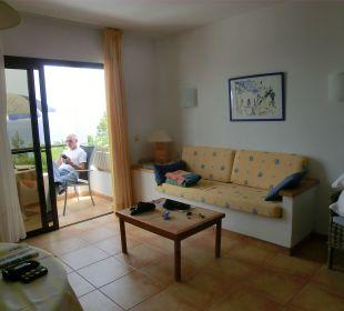 Wohnzimmer Suitehotel Monte Marina Playa