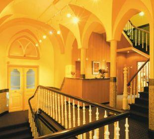 Rezeption Hotel Reichshof Garni