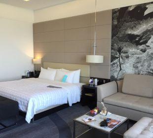 Zimmer Hotel Le Meridien Al Aqah Beach Resort