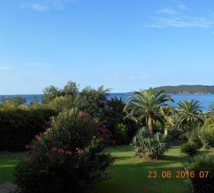 Blick aus Zimmer Hotel Queen of Montenegro