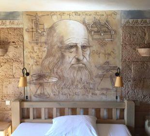 Malerei über dem Bett Hotel Colosseo Europa-Park