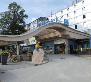 Auffahrt Familotel Hotel Feldberger Hof