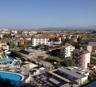 Ausblick von Zimmer 459 Hotel Defne Defnem