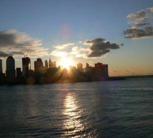 Blick aus dem Zimmer auf Manhattan Hotel Hyatt Regency Jersey City On The Hudson