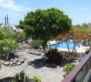 Blick von den Suites in den Garten Hotel Boutique Villa VIK