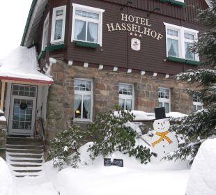 Eingang Hotel Hasselhof