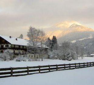Der Kaiser im Winter Ferienwohnanlage Oberaudorf
