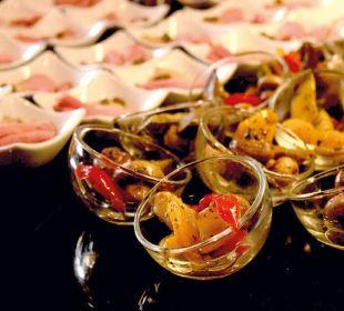 Köstliche Vorspeise vom Buffet Die Gams Hotel - Resort