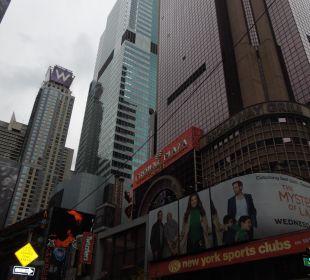 Crowne Plaza von Außen Crowne Plaza Hotel Times Square Manhattan